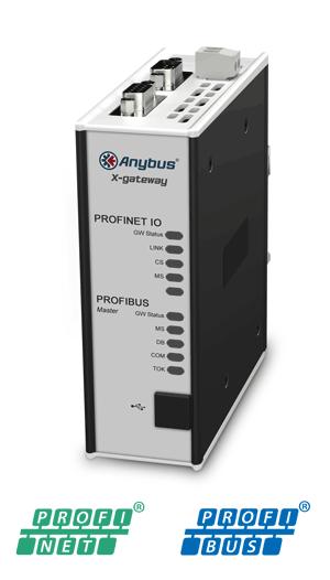 PROFIBUS Master – PROFINET-IO Device - AB7646-F