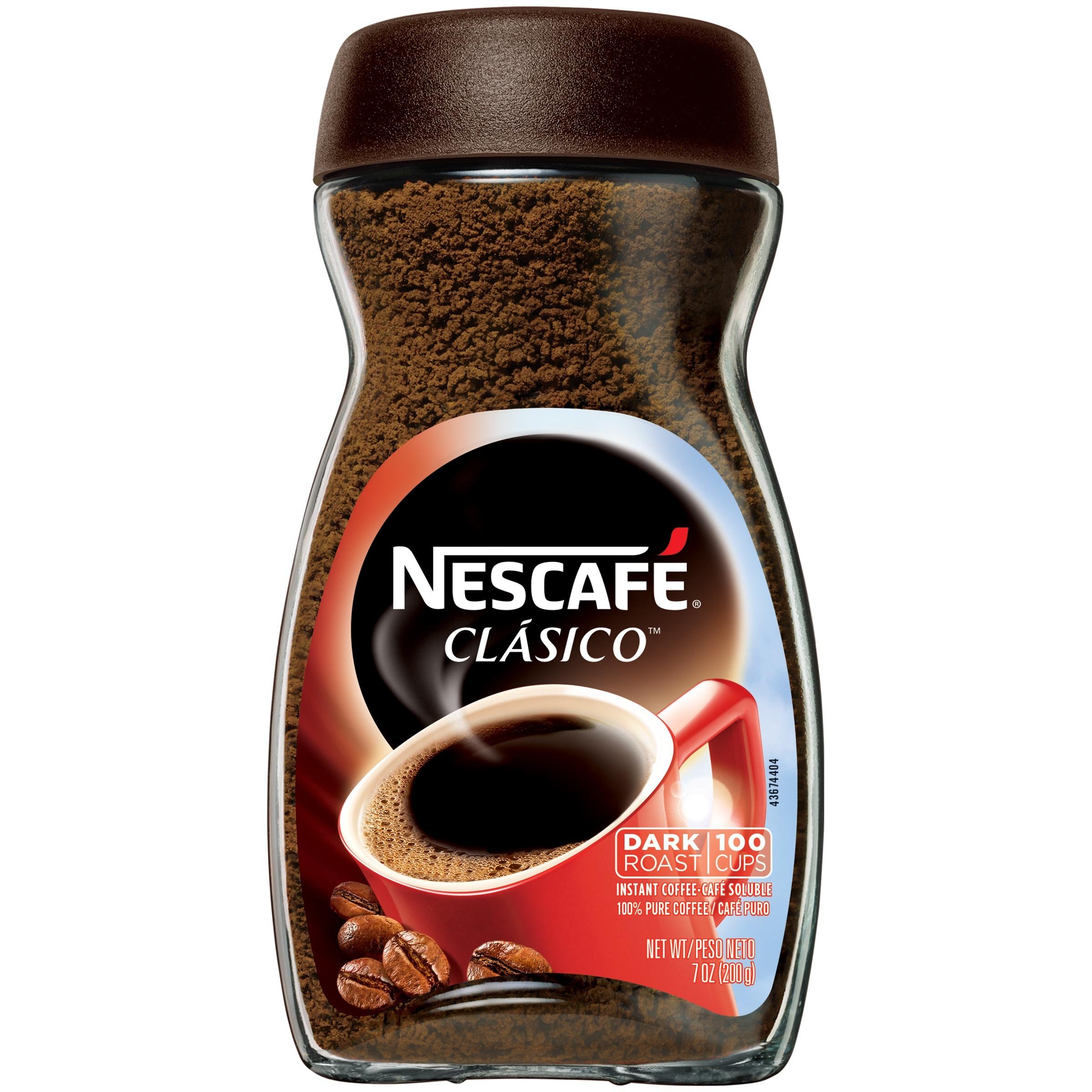 CÀ PHÊ HÒA TAN NESCAFÉ CLASIO INSTANT COFFEE, DARK ROAST 200G