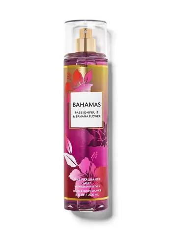 XỊT THƠM BATH & BODY WORKS BAHAMAS PASSIONFRUIT & BANANA FLOWER FINE FRAGRANCE MIST