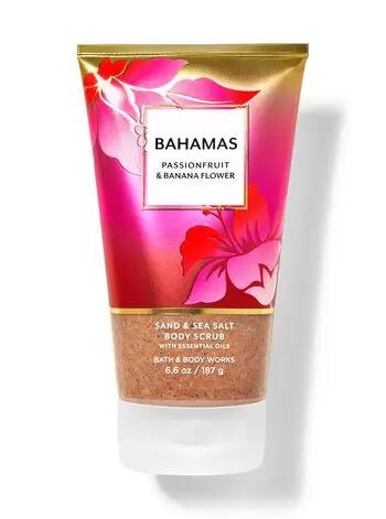 KEM TẨY TẾ BÀO CHẾT TOÀN THÂN BATH & BODY WORKS BAHAMAS PASSIONFRUIT & BANANA FLOWER SAND & SEA SALT BODY SCRUB