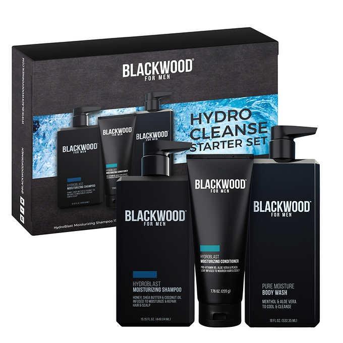 BỘ TẮM GỘI DÀNH CHO NAM BLACKWOOD FOR MEN HYDRO CLEANSE XL STARTER SET