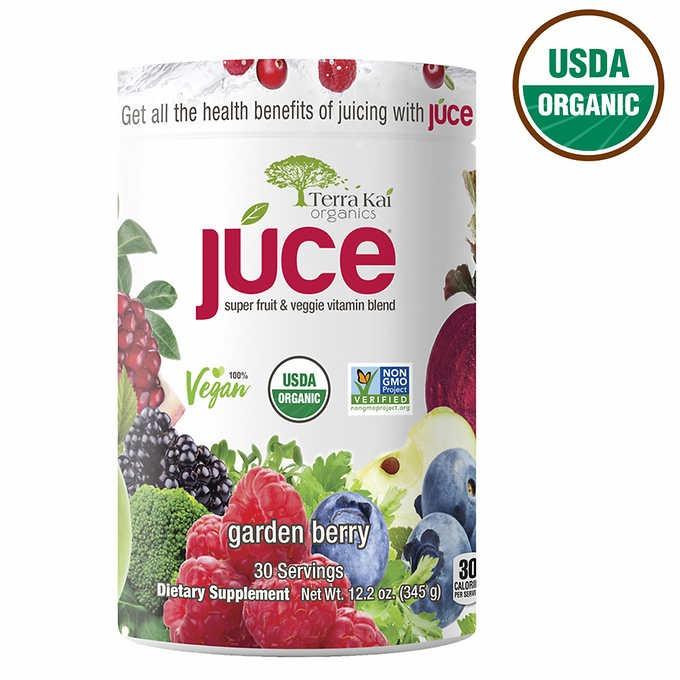 BỘT TRÁI CÂY, RAU CỦ HỮU CƠ TERRA KAI USDA ORGANIC JUCE SUPER FRUIT & VEGGIE POWDER