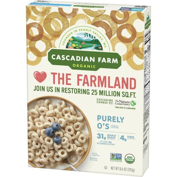 NGŨ CỐC NGUYÊN CHẤT HỮU CƠ CASCADIAN FARM ORGANIC PURELY O'S CEREAL