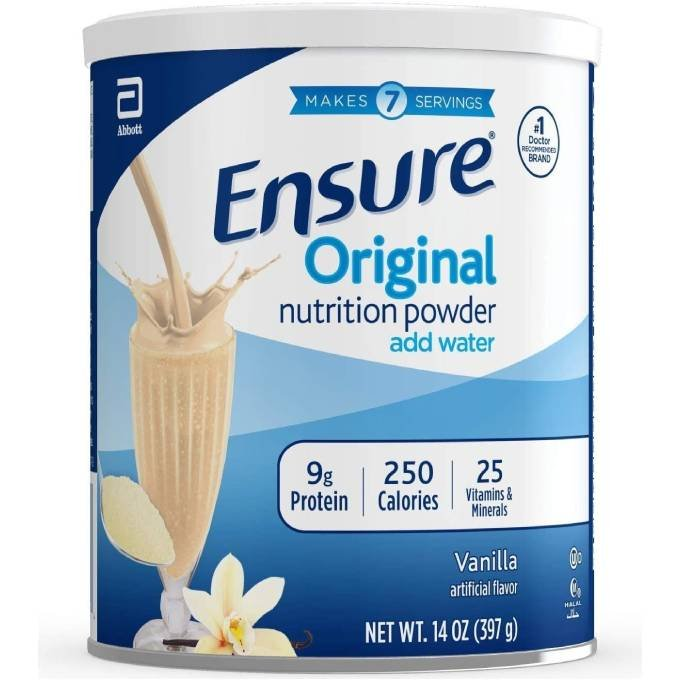 SỮA BỘT ENSURE ORIGINAL NUTRITION POWDER VANILLA