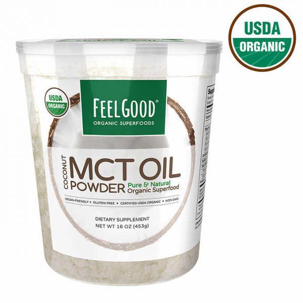 BỘT DẦU DỪA HỮU CƠ FEEL GOOD ORGANIC SUPERFOODS COCONUT MCT OIL POWDER