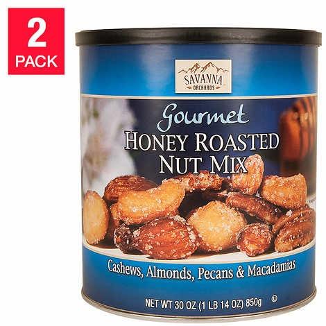 HẠT TỔNG HỢP PHỦ MẬT ONG SAVANNA HONEY ROASTED MIX NUTS