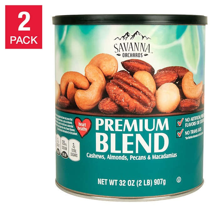 HẠT HỖN HỢP CAO CẤP SAVANNA ORCHARDS PREMIUM BLEND MIXED NUTS