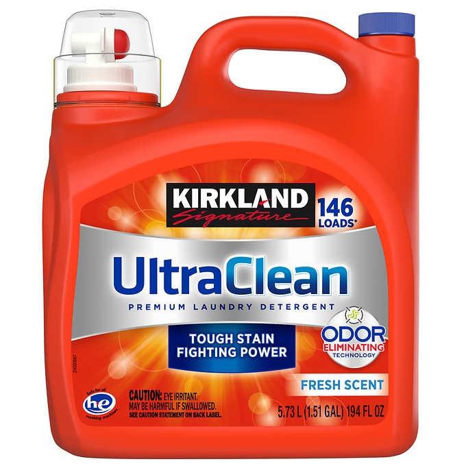 NƯỚC GIẶT KIRKLAND SIGNATURE ULTRA CLEAN HE LIQUID LAUNDRY DETERGENT