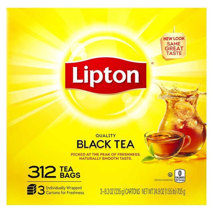 TRÀ ĐEN TÚI LỌC LIPTON ORIGINAL TEA BAGS
