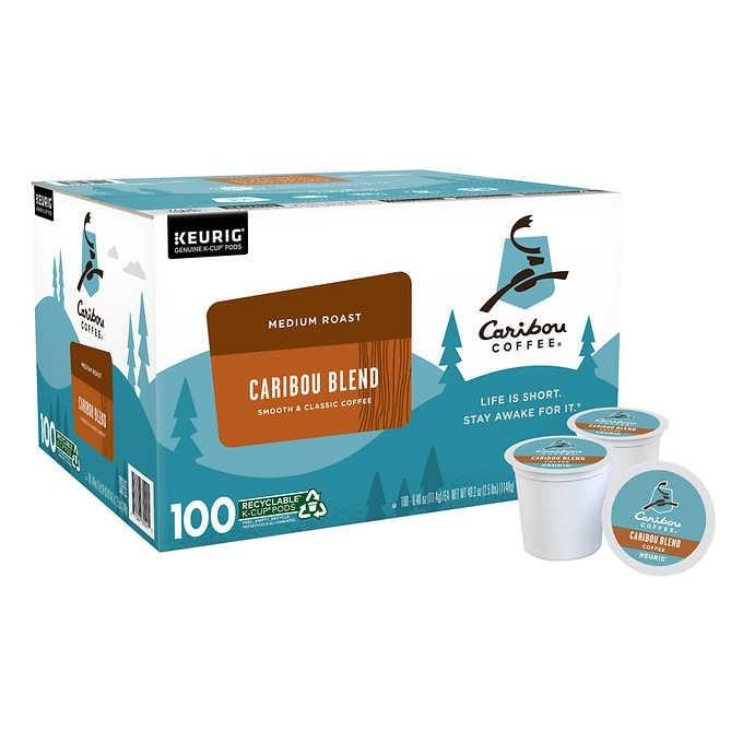 CÀ PHÊ RANG VỪA VỊ ĐẬM ĐÀ, BÉO NGẬY DẠNG CỐC CARIBOU COFFEE CARIBOU BLEND K-CUP POD
