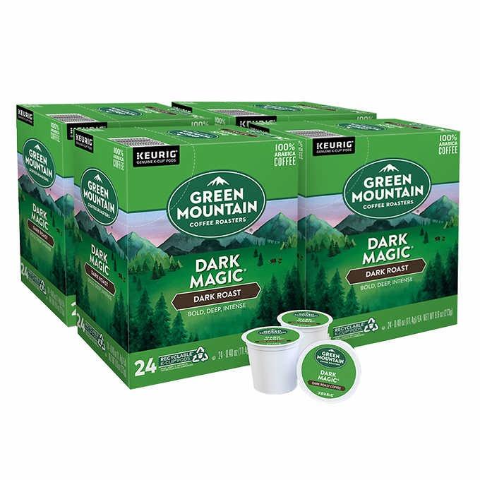 CÀ PHÊ HƯƠNG TRÁI CÂY KHÔ & SÔ-CÔ-LA DẠNG CỐC GREEN MOUNTAIN COFFEE HAZELNUT FLAVORED K-CUP POD
