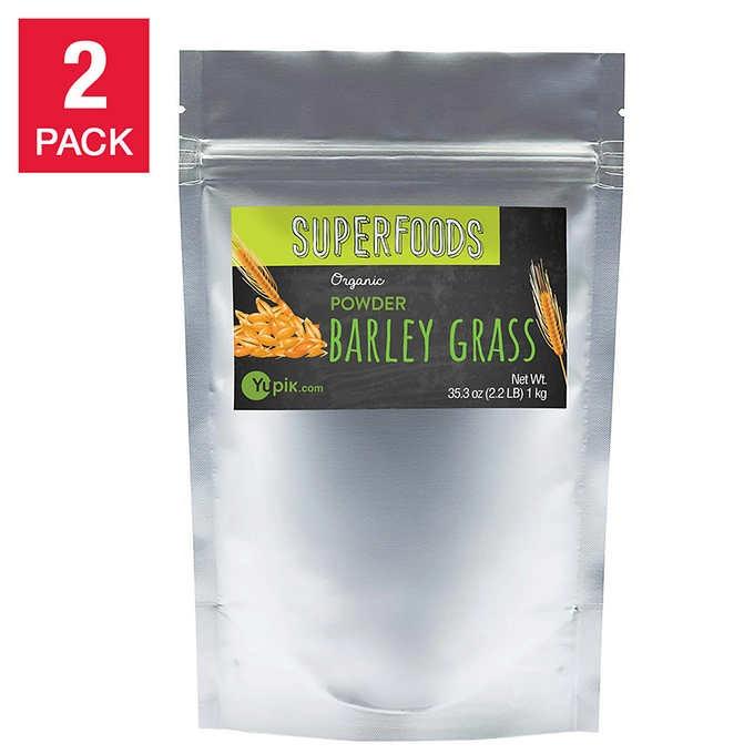BỘT CỎ LÚA MẠCH HỮU CƠ YUPIK ORGANIC POWDER BARLEY GRASS