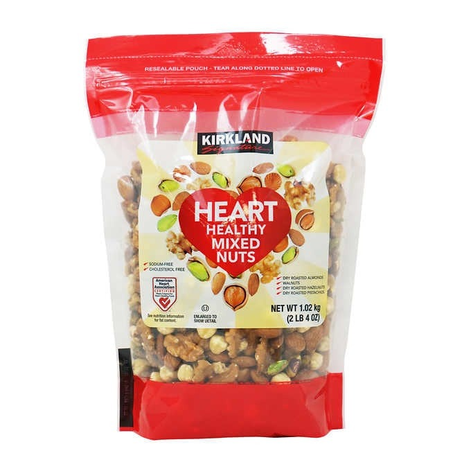 HỖN HỢP CÁC LOẠI HẠT KIRKLAND SIGNATURE HEART HEALTHY MIXED NUTS