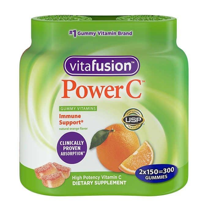 KẸO DẺO BỔ SUNG VITAMIN C HỖ TRỢ MIỄN DỊCH VITAFUSION POWER C IMMUNE SUPPORT