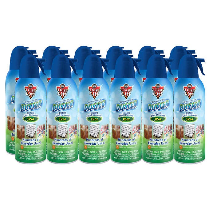 XỊT KHÍ NÉN LOẠI BỎ BỤI DUST - OFF COMPRESSED GAS DUSTER