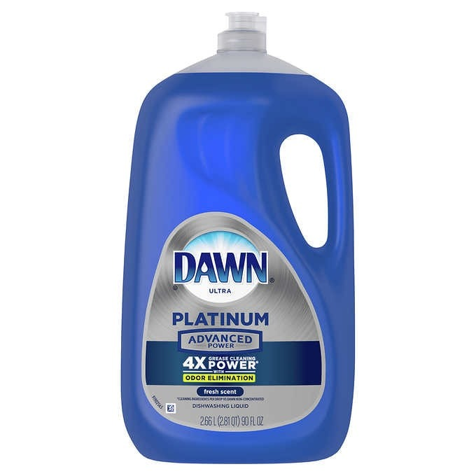 NƯỚC RỬA CHÉN CAO  CẤP DAWN PLATINUM ADVANCED POWER LIQUID DISH SOAP