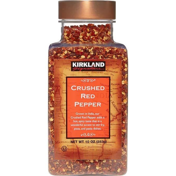 ỚT ĐỎ NGHIỀN KIRKLAND SIGNATURE CRUSHED RED PEPPER