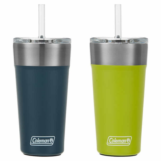 LY GIỮ NHIỆT COLEMAN 20 OZ TUMBLER, 2- PACK