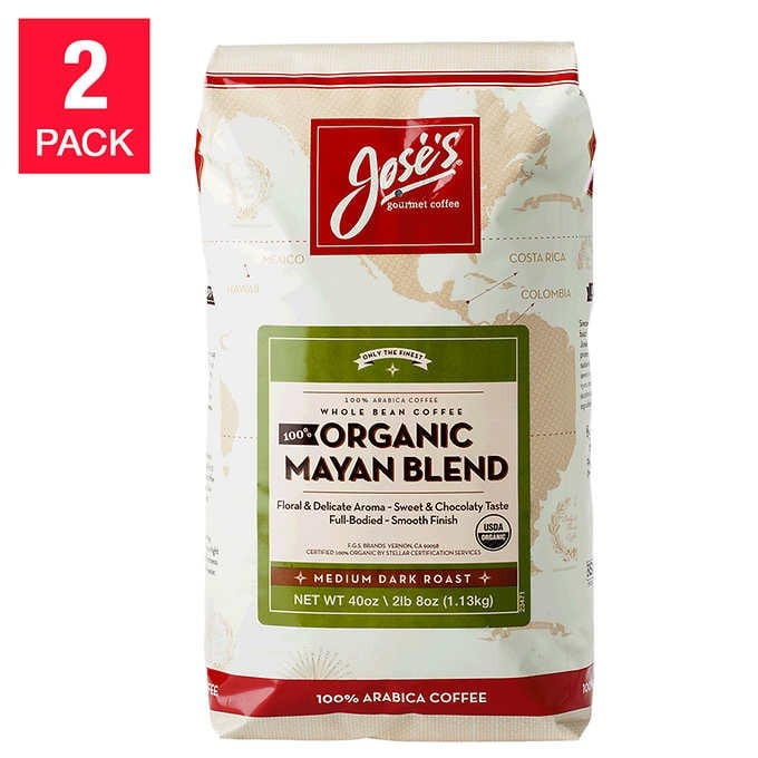 CÀ PHÊ HỮU CƠ JOSE'S 100% ORGANIC MAYAN COFFEE