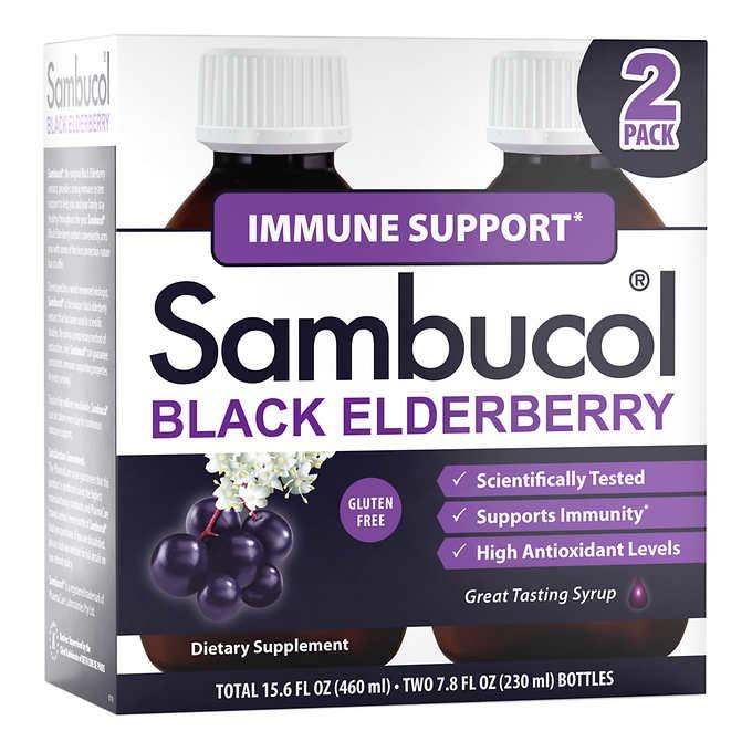 SIRO HỖ TRỢ MIỄN DỊCH SAMBUCOL BLACK ELDERBERRY IMMUNE SUPPORT