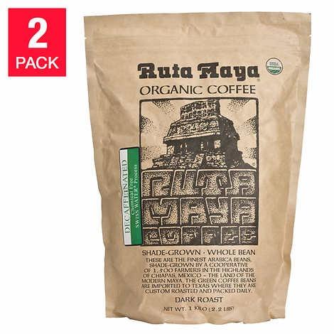CÀ PHÊ RANG ĐẬM ĐÃ KHỬ CAFFEIN HỮU CƠ RUTA MAYA DECAFFEINATED COFFEE