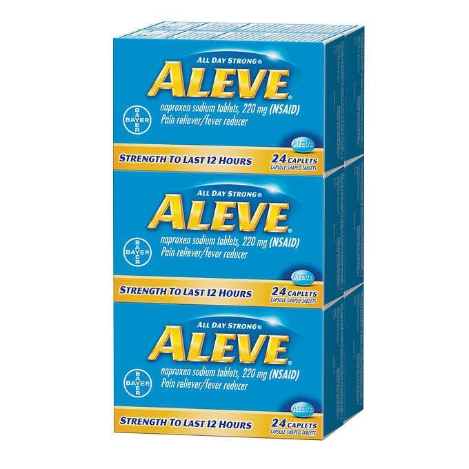 THUỐC GIẢM ĐAU HẠ SỐT ALEVE PAIN RELIEVER AND FEVER REDUCER