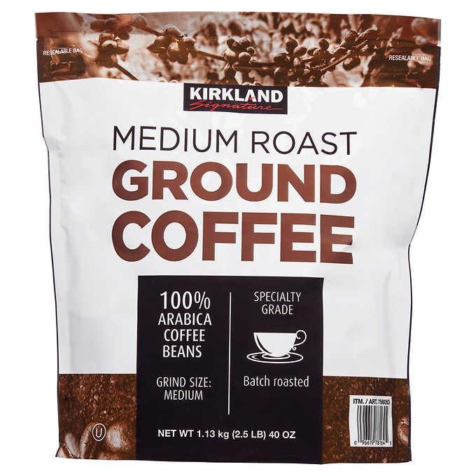 CÀ PHÊ RANG VỪA KIRKLAND SIGNATURE MEDIUM ROAST COFFEE