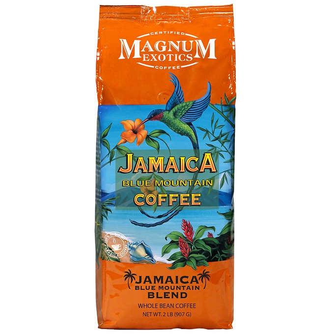 CÀ PHÊ XANH NGUYÊN HẠT MAGNUM COFFEE EXOTICS JAMAICA BLUE MOUNTAIN BLEND COFFEE, WHOLE BEAN