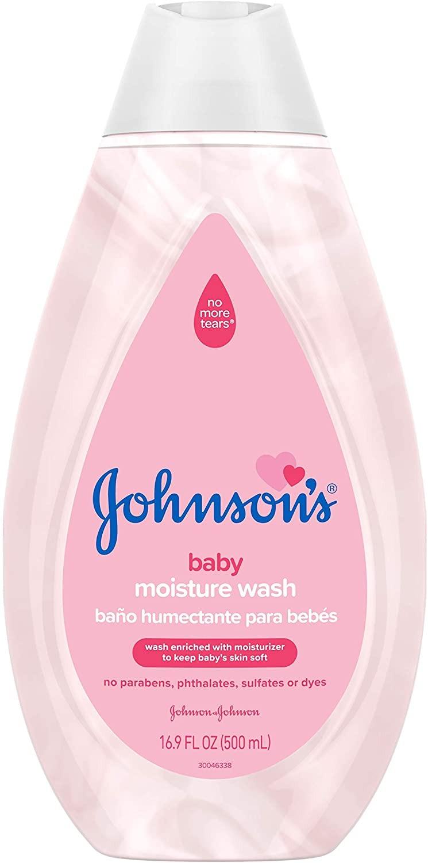SỮA TẮM GỘI CHO BÉ JOHNSON'S GENTLE BABY MOISTURE WASH