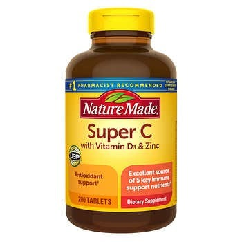 VIÊN UỐNG HỖ TRỢ MIỄN DỊCH NATURE MADE SUPER C IMMUNE COMPLAEX