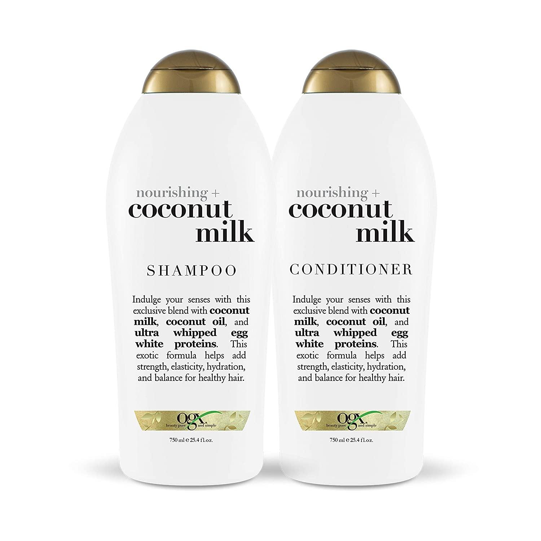 BỘ DẦU GỘI & DẦU XÃ SỮA DỪA OXG NOURISHING + COCONUT MILK SHAMPOO & CONDITIONER SET