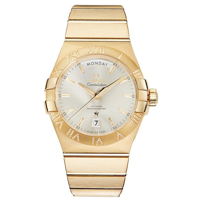 ĐỒNG HỒ NAM OMEGA CONSTELLATION 18KT YELLOW GOLD AUTOMATIC MEN'S WATCH