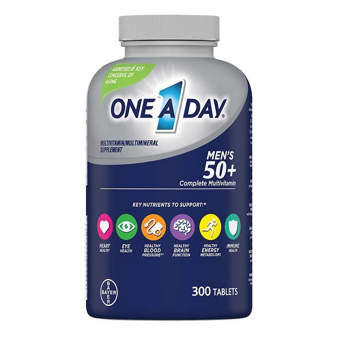 VIÊN UỐNG VITAMIN TỔNG HỢP ONE A DAY MEN'S 50+ HEALTHY ADVANTAGE MULTIVITAMIN DÀNH CHO NAM GIỚI TRÊN 50 TUỔI
