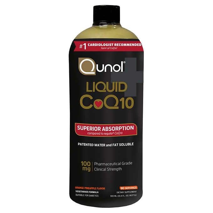THUỐC UỐNG BỔ SUNG COQ10 DẠNG NƯỚC QUNOL LIQUID COQ10 100 MG