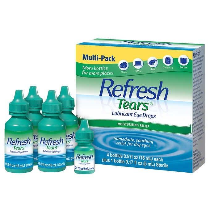 NƯỚC NHỎ MẮT NHÂN TẠO REFRESH TEARS LUBRICANT EYE DROPS MULTI-PACK