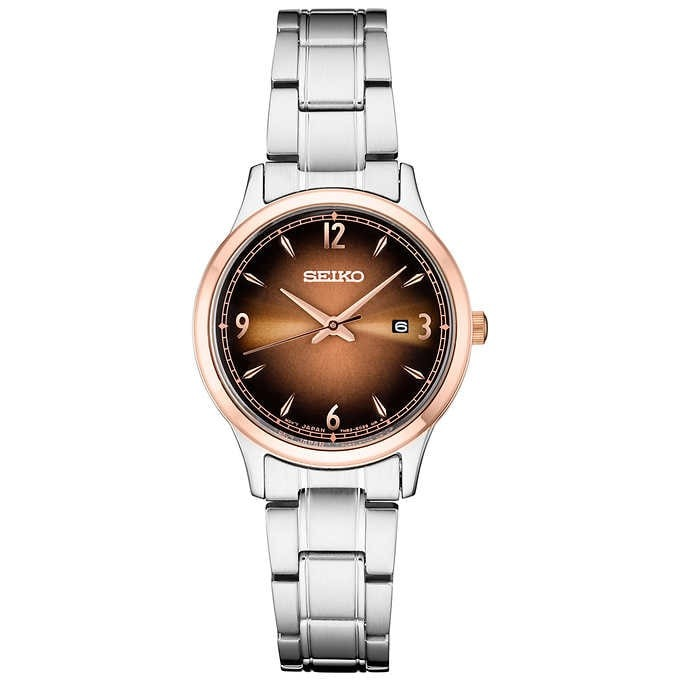 ĐỒNG HỒ NỮ SEIKO ESSENTIAL CLASSIC STAINLESS STEEL LADIES WATCH