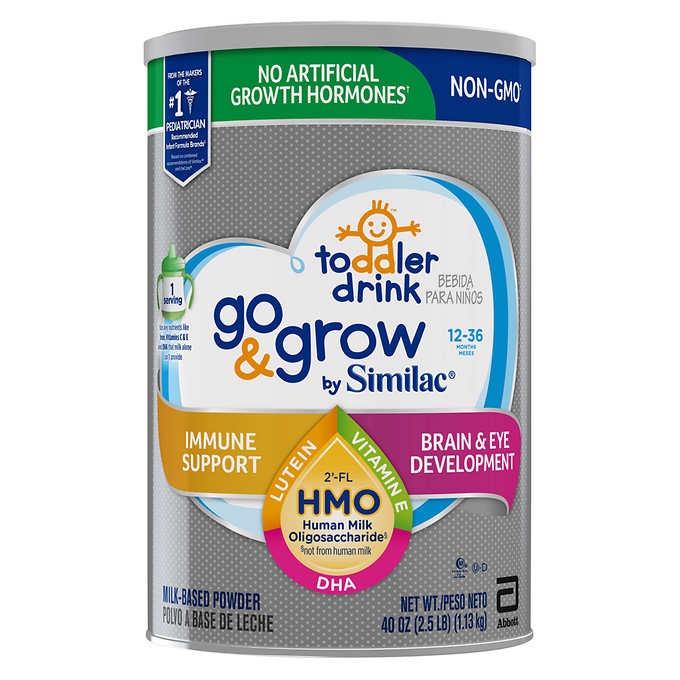 SỮA BỘT DÀNH CHO BÉ TỪ 12-36 THÁNG TUỔI SIMILAC GO & GROW NON-GMO TODDLER DRINK