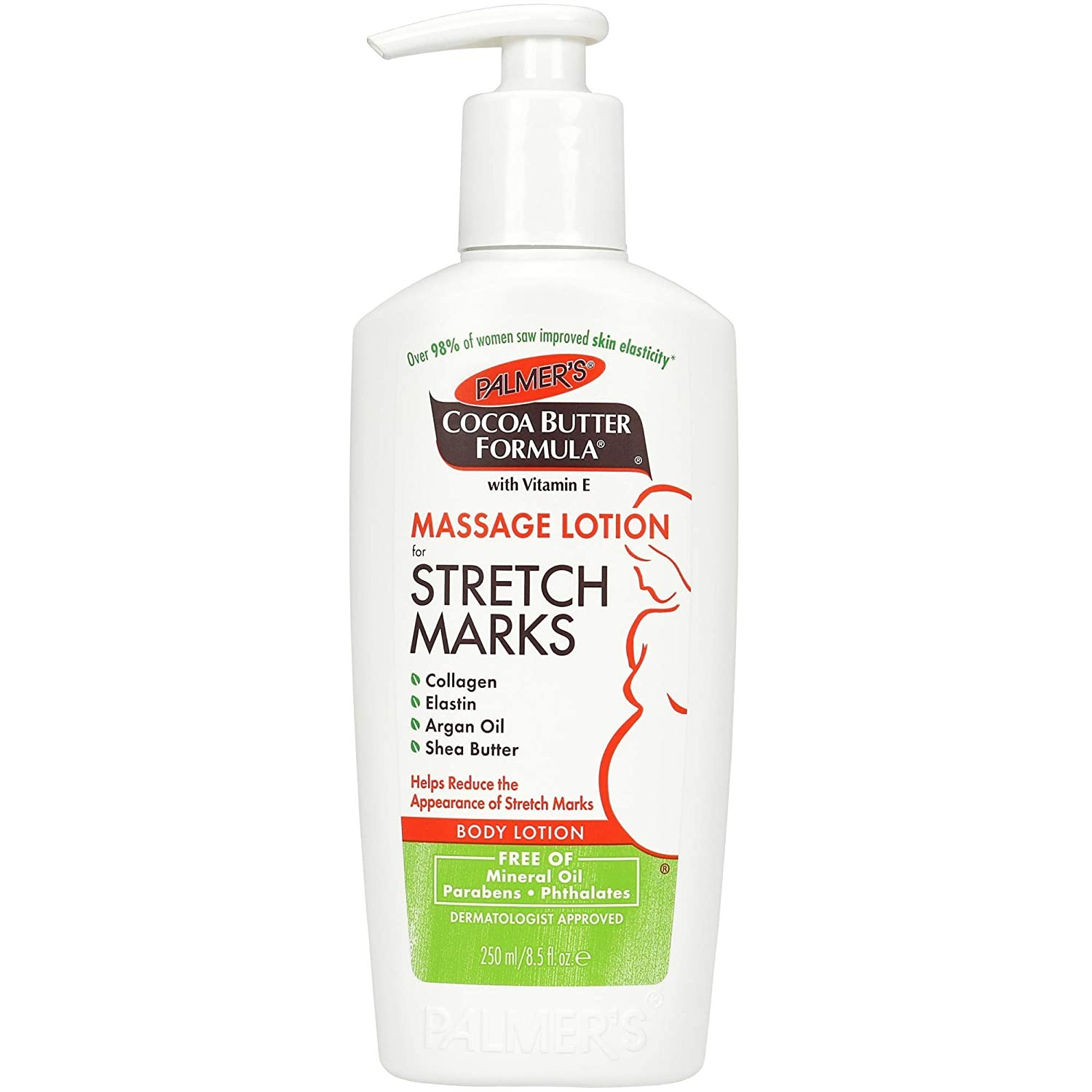 SỮA DƯỠNG CHỐNG RẠN DA PALMER'S COCOA BUTTER FORMULA MASSAGE LOTION FOR STRETCH MARKS, PREGNANCY SKIN CARE