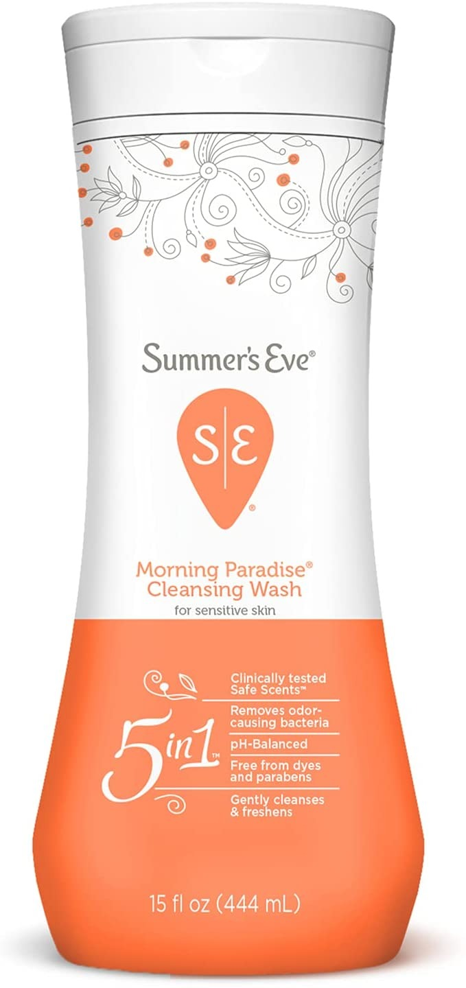 DUNG DỊCH VỆ SINH PHỤ NỮ SUMMER'S EVE FEMININE CLEANSING WASH, MORNING PARADISE, 444ML