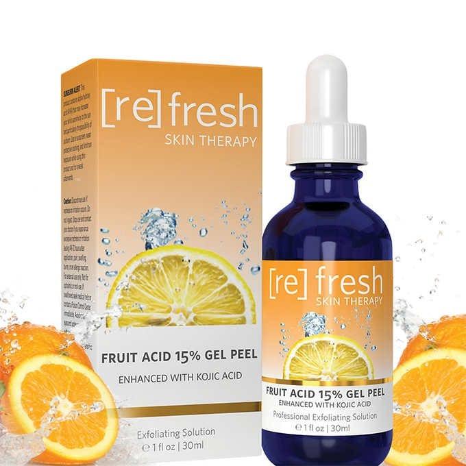 TẨY TẾ BÀO CHẾT Ở MẶT DẠNG GEL LỘT REFRESH SKIN THERAPY FRUIT ACID 15% GEL PEEL