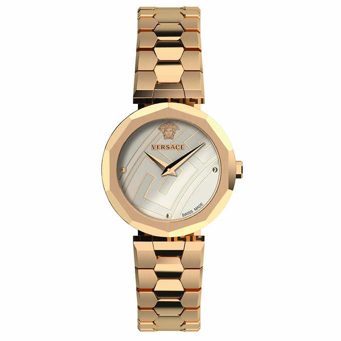 ĐỒNG HỒ NỮ VERSACE IDYIA GOLD-PLATED STAINLESS STEEL QUARTZ LADIES WATCH