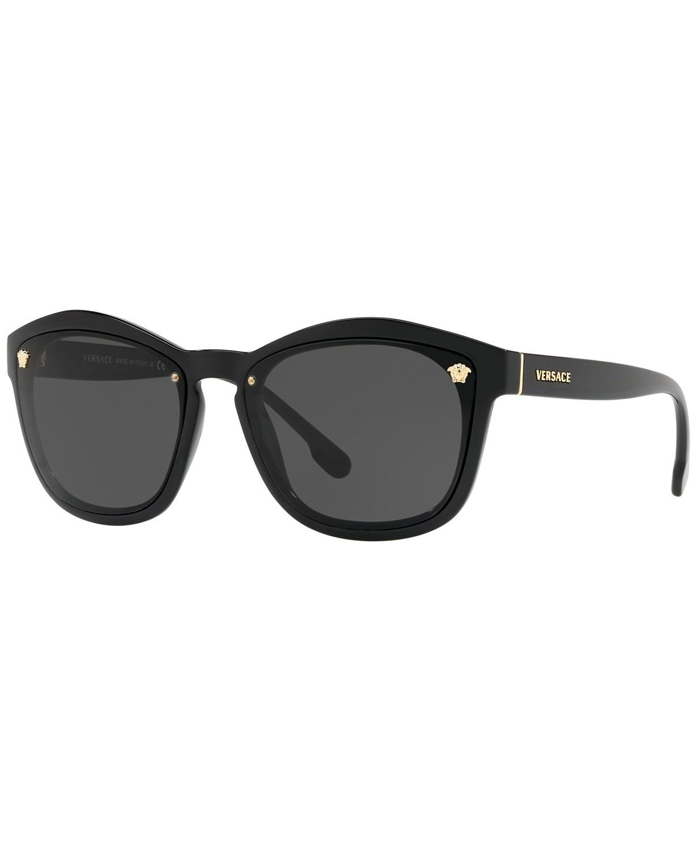 MẮT KÍNH NỮ VERSACE SUNGLASSES, VE4350 57, BLACK / GREY