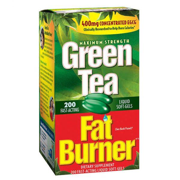 VIÊN UỐNG GIẢM CÂN TRÀ XANH GREEN TEA FAT BURNER 400 MG