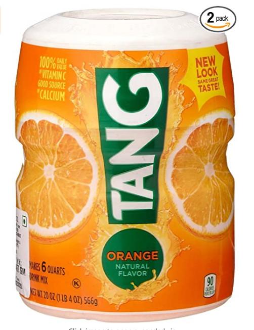 BỘT HÒA TAN HƯƠNG CAM TANG ORANGE POWDERED DRINK MIX