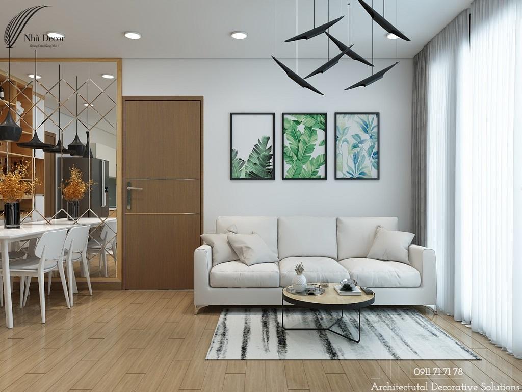 Phối Cảnh 3D Nội Thất Căn Hộ Chung Cư Eco Green Quận 7