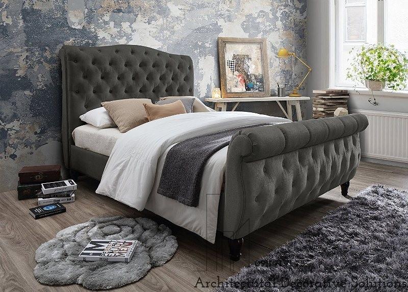 Giường Ngủ Bọc Nệm 498T