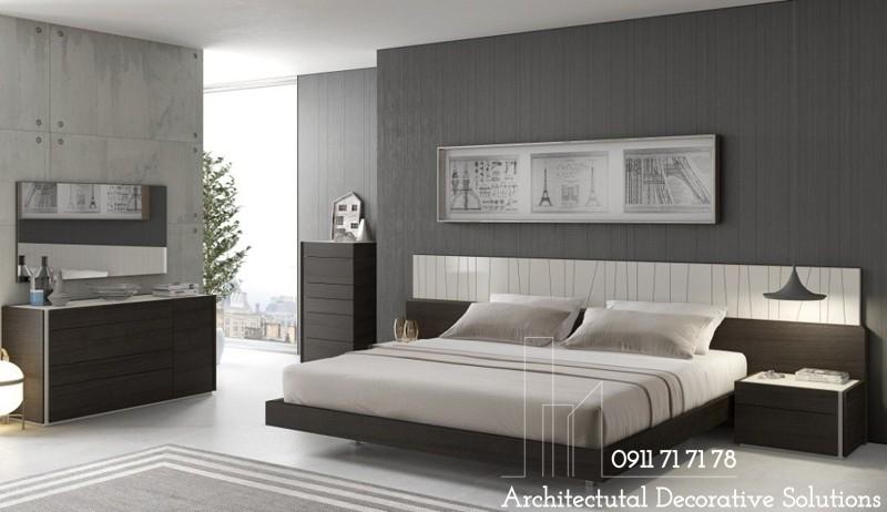Giường Ngủ Gỗ Đẹp 209T