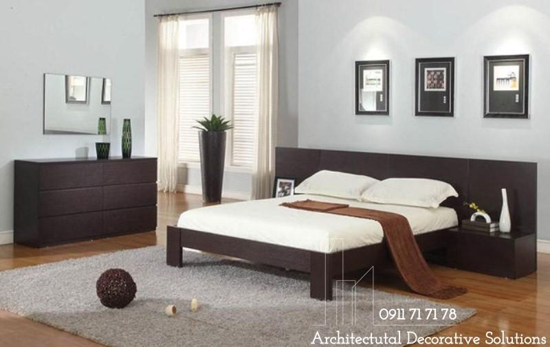 Giường Ngủ Gỗ HCM 216T