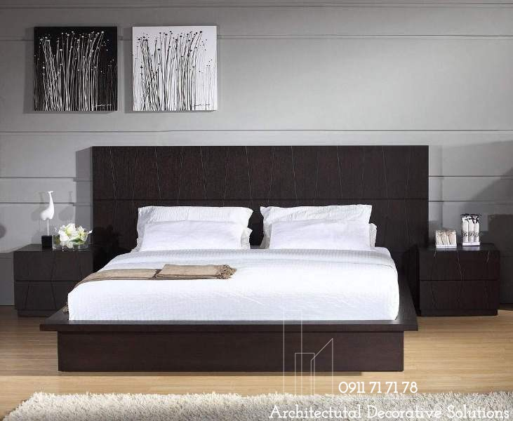 Giường Ngủ Gỗ Đẹp HCM 220T