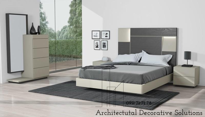 Giường Ngủ Gỗ Giá Rẻ 1182T